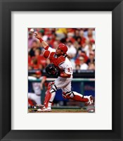 Framed Carlos Ruiz 2013 Action