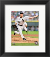Framed Chris Sale 2013 Action