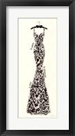 Couture Noir Original II Framed Print