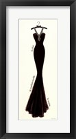 Couture Noir Original lII Framed Print