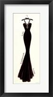 Framed Couture Noir Original lII