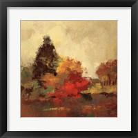 Framed Fall Forest I