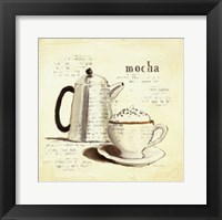 Parisian Coffee I Framed Print