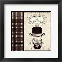 Framed Gentleman I