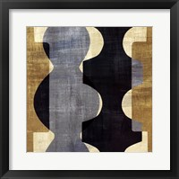 Geometric Deco I Framed Print