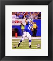 Framed Peyton Manning 2010
