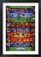 Framed Skylanders Swap Force - Grid