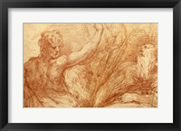 Framed Studies of Saints John the Baptist and Jerome