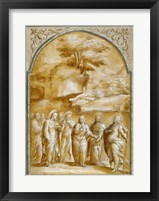 Framed Christ and the Canaanite Woman
