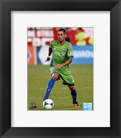 Framed Clint Dempsey 2013 Action