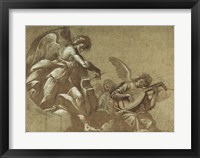 Framed Angel Musicians