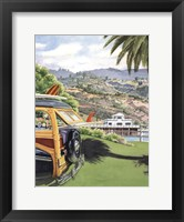 Framed Malibu Pier