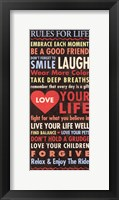 Framed Life - quote