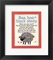 Baa Baa Framed Print