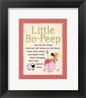 Framed Bo Peep
