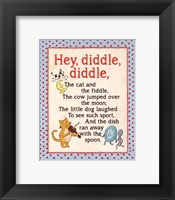 Framed Hey Diddle