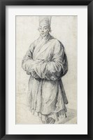 Framed Man in Korean Costume