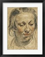 Framed Head of a Woman