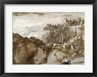 Framed View of Tivoli