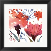 Framed Wild Flowers II-Mini
