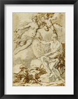Framed Venus Receiving from Vulcan the Arms of Aeneas