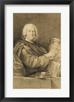 Framed Portrait of Cavaliere Francesco Maria Niccolo Gabburri