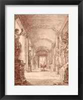 Framed Draftsman in the Capitoline Gallery