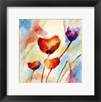 Framed Tilt Tulips I