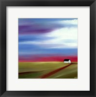 Framed Prairie Abstract 2