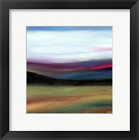 Framed Prairie Abstract 4