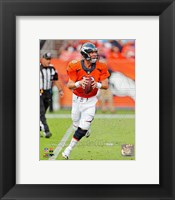 Framed Peyton Manning 2013 Action