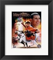 Framed Manny Machado 2013 Portrait Plus