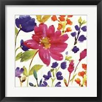 Framed Floral Medley I
