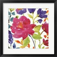 Framed Floral Medley II