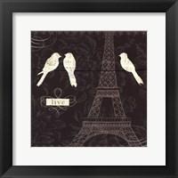 Love Paris I Framed Print