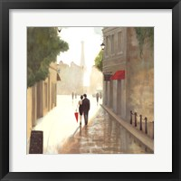 Paris Romance I Framed Print