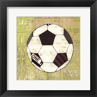 Play Ball III Framed Print