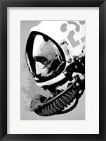 Framed Astro Bear