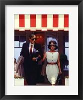 Framed Lunchtime Lovers
