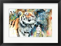 Framed Mr. Tiger