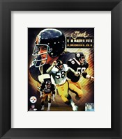 Framed Jack Lambert 2013 Portrait Plus