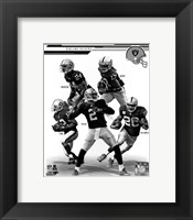 Framed Oakland Raiders 2013 Team Composite