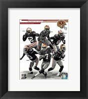 Framed San Francisco 49ers 2013 Team Composite