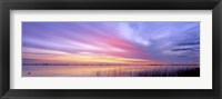 Framed Boga Sunset