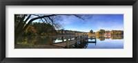 Framed Lake Daylesford 2