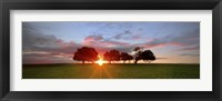 Framed Sunset 3