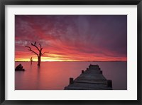 Framed Lake Charm 4