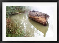 Framed Old Barge 2