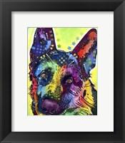 Framed German Shepherd 1
