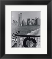 Framed View from Staten Island Ferry
